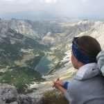 View on Skrcka lakes original