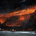 lava-streaming-from-the